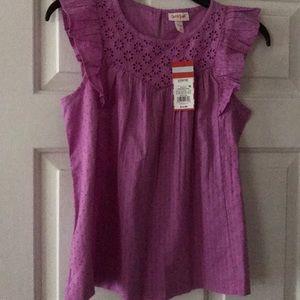 Girls blouse size 10/12 NWT